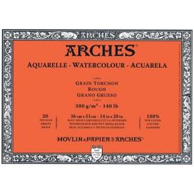 Bloc acuarela Arches Grano Grueso 36 x 51 cm 300 gr/m2