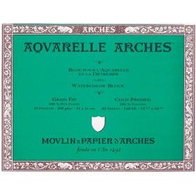 Bloc acuarela Arches Grano Fino 31 x 41 cm 300 gr/m2