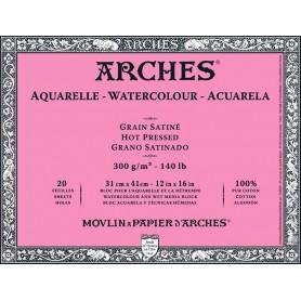 Bloc acuarela Arches Grano Satinado 31 x 41 cm 300 gr/m2