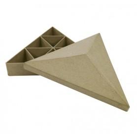 Caja compartimentos triángulo