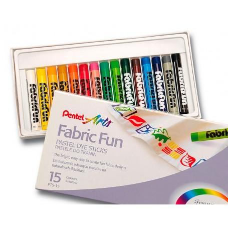 Pentel Pastel Textil 15 Colores