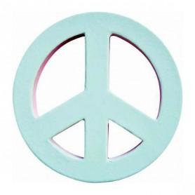 Símbolo Peace and Love Décopatch