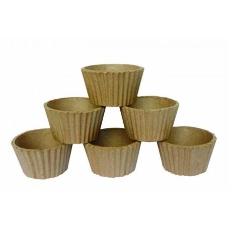 Bolsa 6 moldes para pasteles Décopatch