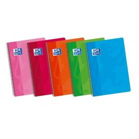 Cuaderno Rayado Horizontal 4º Tapa Blanda, Oxford