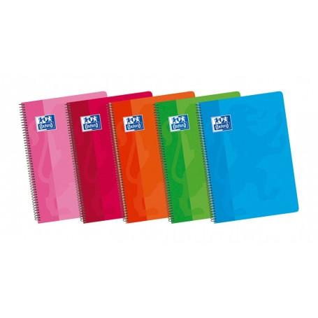 Cuaderno Liso Horizontal Folio Tapa Blanda, Oxford