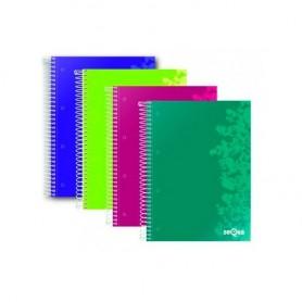Cuaderno cuadriculado 5x5 A4, Dequa