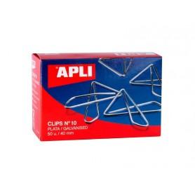 Clip Mariposa 40 mm 50 unidades, Apli