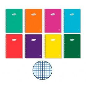 Cuaderno Milimetrado Folio Tapa Blanda , Pacsa School