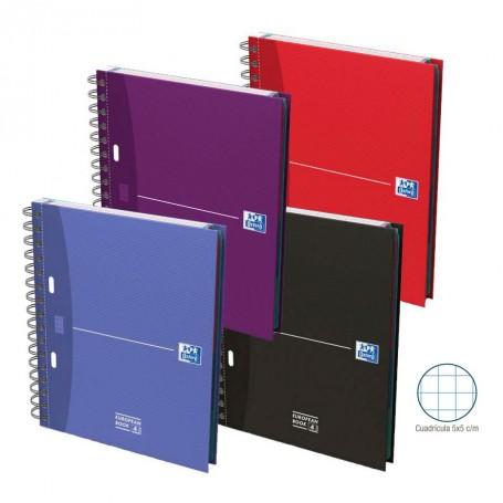 Cuaderno Oxford Tapas Extraduras A5+
