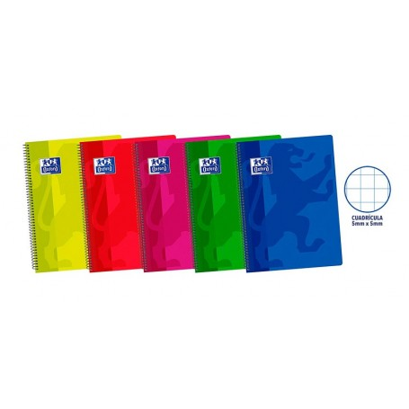Cuaderno Oxford Folio Plástico Ref 101241204
