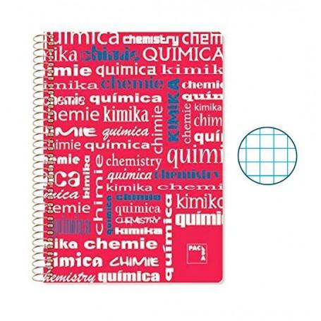 Cuaderno Folio Cuadriculado Química