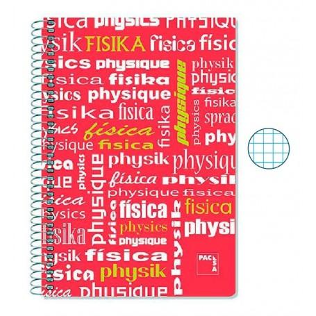Cuaderno Folio Cuadriculado Física