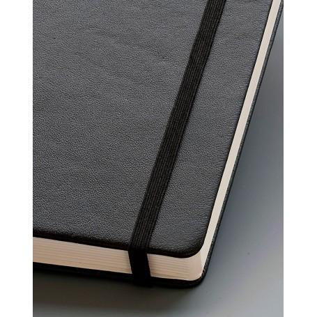 Notebook Master Cuero Negro Hoja Lisa Leuchtturm