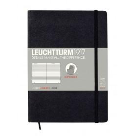 Notebook Medium Negro con lineas