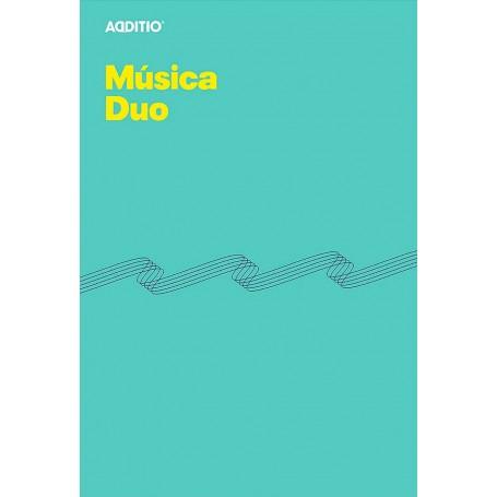 Cuaderno Música Dúo, Additio
