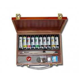 Caja Óleo TITAN extrafino 40 ml + accesorios