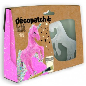 Mini Kit Unicornio, décopatch