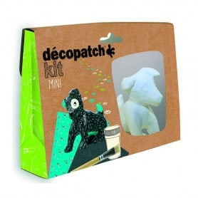 Mini Kit Perro, Décopatch