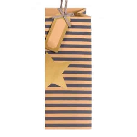 Bolsa de Regalo Navidad Kraft Decorada, Artebene