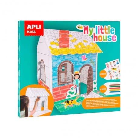Casa Automontaje Apli Kids Gomets y Ceras