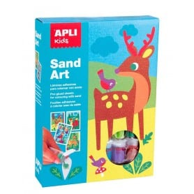 Sand Art Colores con Arena Apli Kids