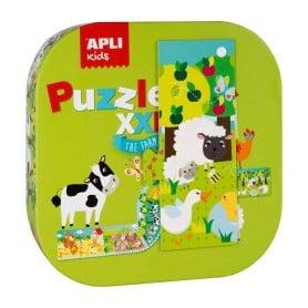Puzzle XXL Granja , Apli Kids