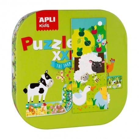 Puzzle Granja XXL , Apli Kids