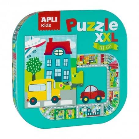Puzzle XXL Ciudad , Apli Kids