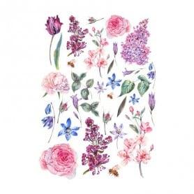 Papel arroz 632 Flores sueltas Cadence