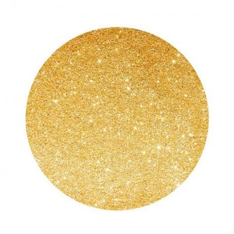 Bajoplatos Glitter Oro 33 cm