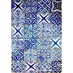 Papel arroz 306 Azulejos Azules Cadence