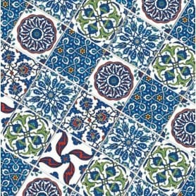 Papel arroz 308 Mini Azulejos Cadence