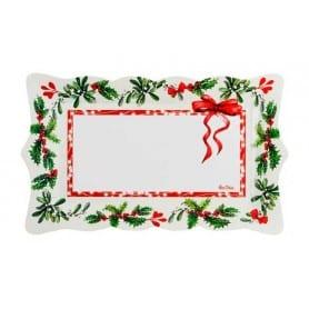 Bandeja Happy Christmas 30 x 18 cm