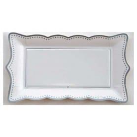 Bandeja Silver Grace 30 x 18 cm