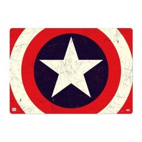 Vade Escolar Marvel Capitán América Shield