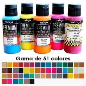 Acrílico Premium Vallejo -Gama de 51 colores