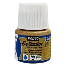 Setacolor tornasolado 45 Oro 45 ml