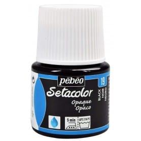 Setacolor opaco 19 Negro 45 ml