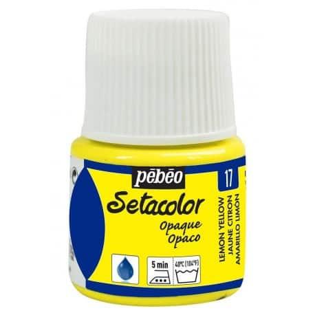 Setacolor opaco 17 Limón 45 ml