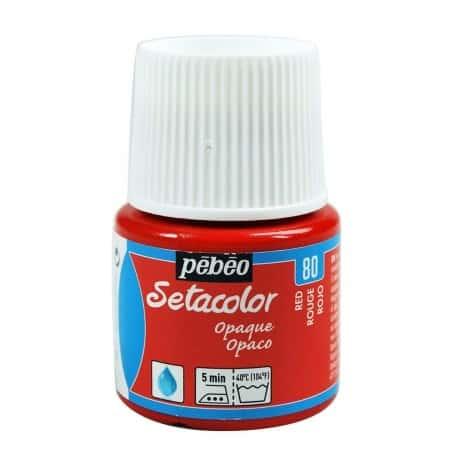 Setacolor Opaco 80 Rojo 45 ml