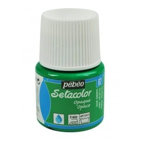 Setacolor Opaco 82 Verde vegetal 45 ml