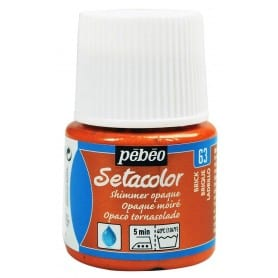 Setacolor tornasolado 63 Teja 45 ml