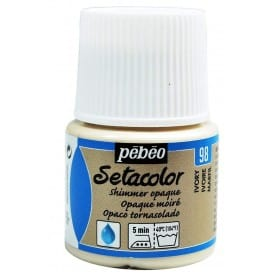 Setacolor Opaco Tornasolado 98 Marfil 45 ml