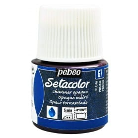 Setacolor tornasolado 67 Ciruela 45 ml