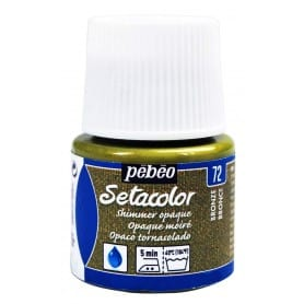 Setacolor tornasolado 72 Bronce 45 ml