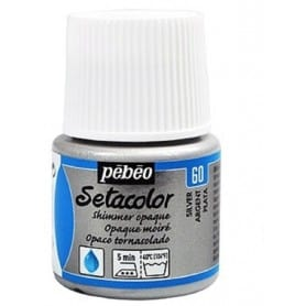 Setacolor tornasolado 60 Plata 45 ml