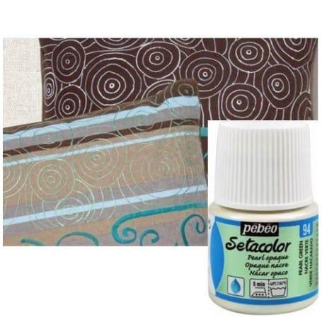 Setacolor Opaco Nacarado 94 Verde 45 ml