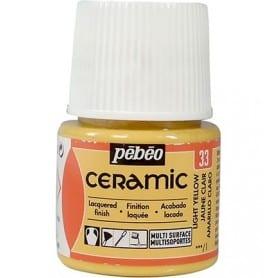 Pintura Ceramic Amarillo Claro 45 ml nº33