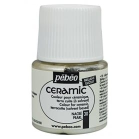 Pintura Ceramic Nacarado 45 ml
