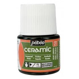 Pintura Ceramic Verde Hoja 45 ml nº27